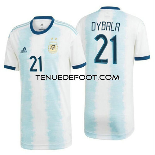 maillot Dybala 21 argentine 2019-2020 domicile