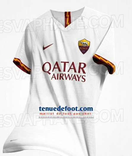 maillot de foot as rome 2019-2020 exterieur