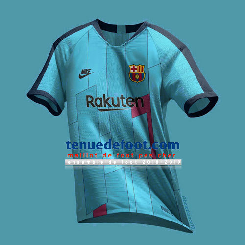 maillot barcelone 2019-2020 troisieme