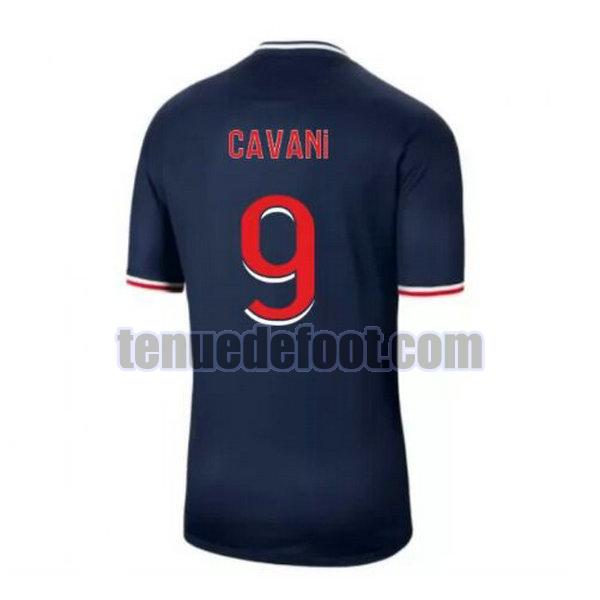 maillot cavani 9 paris saint germain 2020-2021 domicile bleu