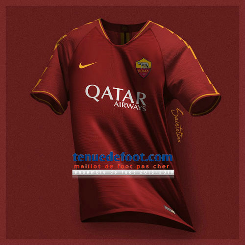 maillot de foot as rome 2019-2020 domicile