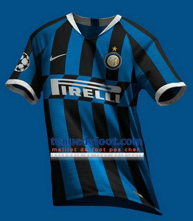 maillot de foot inter milan 2019-2020 domicile
