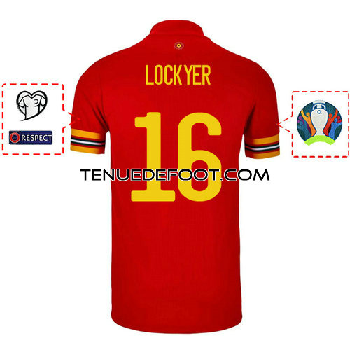 maillot lockyer 16 galles mondial 2019-2020 domicile