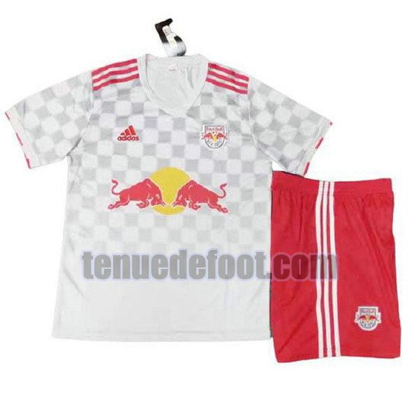 maillot new york red bulls 2021 2022 domicile enfants blanc blanc