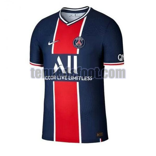 maillot paris saint germain 2020-2021 domicile bleu