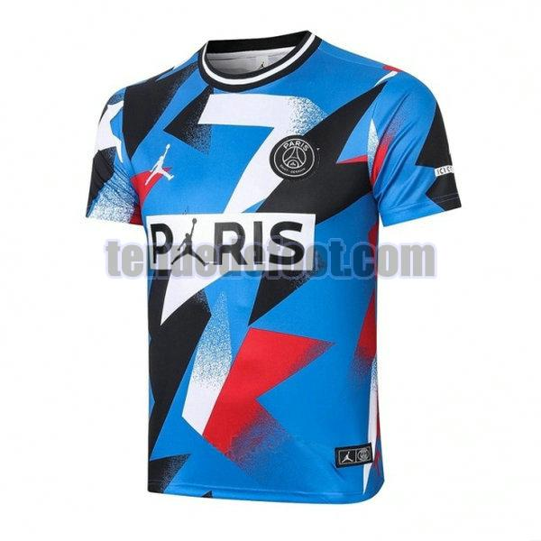 maillot paris saint germain entraînement 2020-2021 bleu