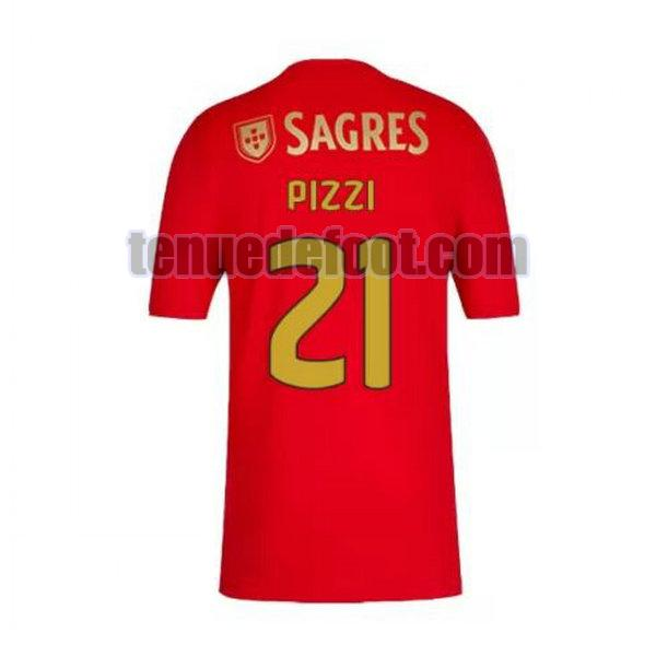 maillot pizzi 21 sl benfica 2020-2021 domicile rouge
