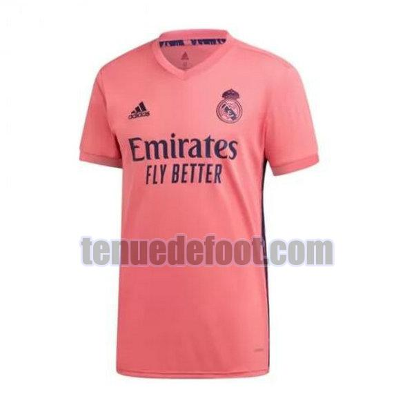 maillot real madrid 2020-2021 exterieur rose