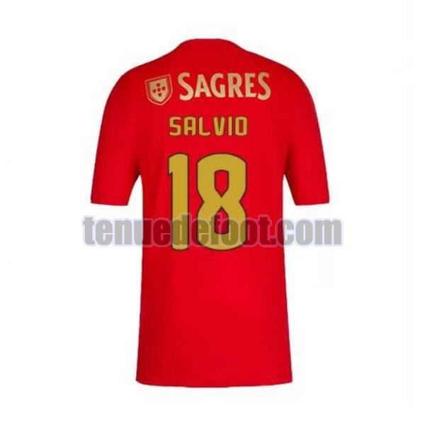 maillot salvio 18 sl benfica 2020-2021 domicile rouge