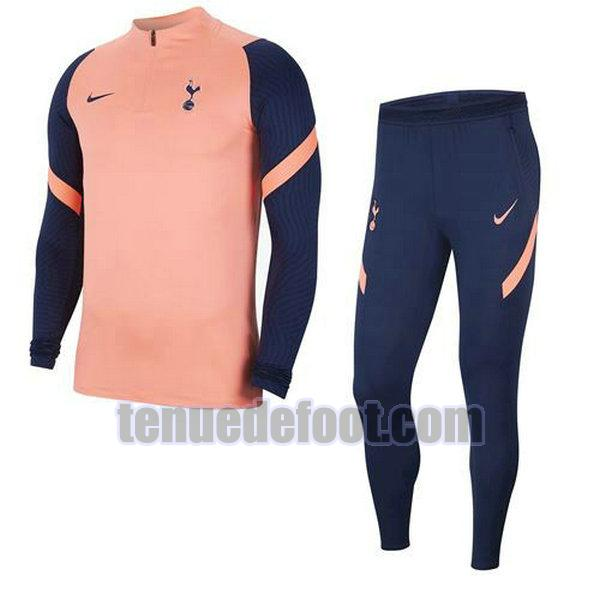 survêtement tottenham hotspur 2020-2021 orange ensemble orange